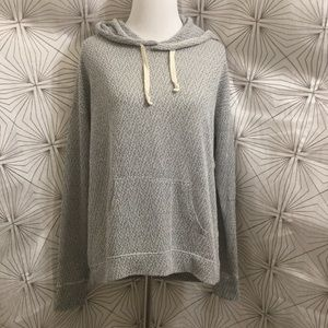 Hollister Light Gray Hoodie